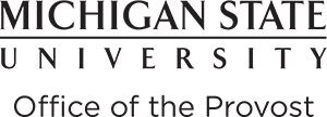 msu office of the provost logo
